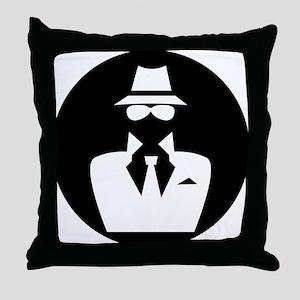 white hat hacker GRAPHICS Throw Pillow