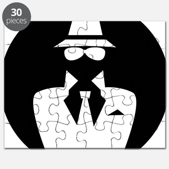white hat hacker GRAPHICS Puzzle