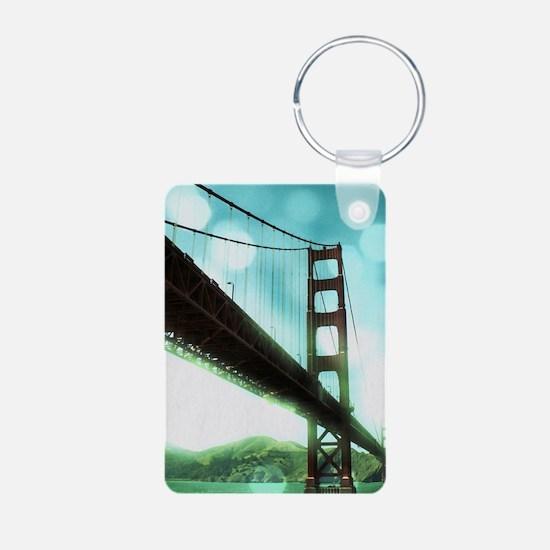 Bokeh Bridge Keychains