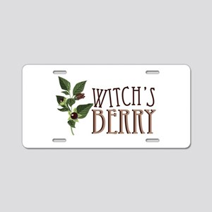 Witchs Berry Aluminum License Plate