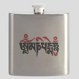 Om Mani Padme Hum Flask