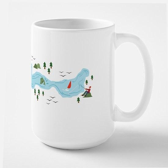 Lake Scene Mugs