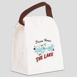Dream House Canvas Lunch Bag