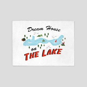 Dream House 5'x7'Area Rug