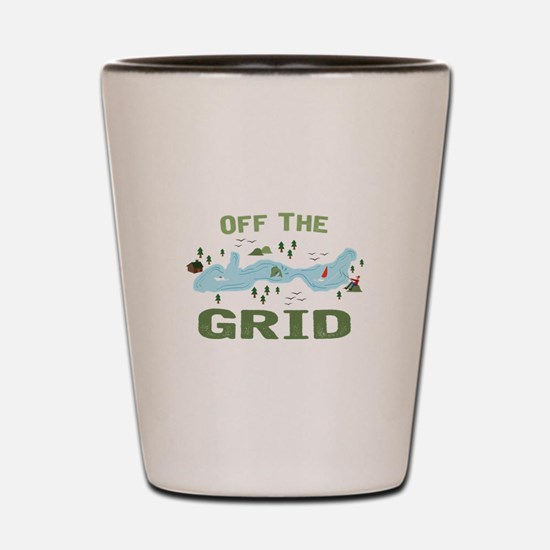 Off the Grid Shot Glass