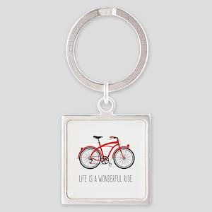 Life is a Wonderful Ride Keychains