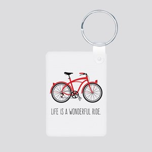Life is a Wonderful Ride Keychains