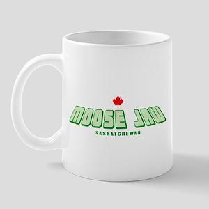 Moose Jaw Slant Mug