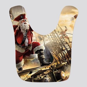 Santa Is A Pirate Bib
