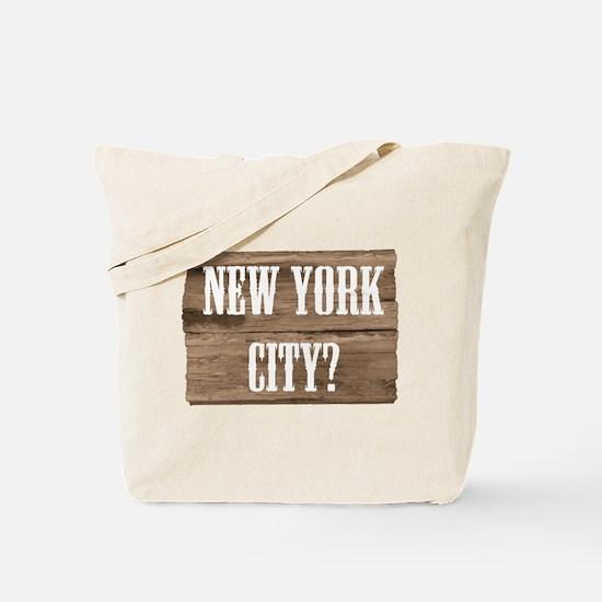 New York City? Salsa Tote Bag