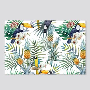 Vintage Chic Pinapple Tro Postcards (Package of 8)