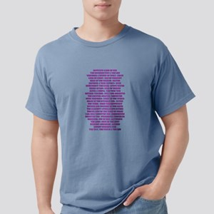 Titles of Jesus Christ Mens Comfort Colors Shirt