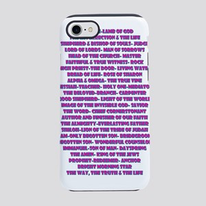 Titles of Jesus Christ iPhone 8/7 Tough Case
