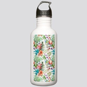 Vintage Chic Tropical Stainless Water Bottle 1.0L