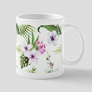 Vintage Elegant Girly Floral Mug