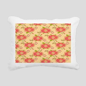 Bohemian Boho MOD Hippy Rectangular Canvas Pillow