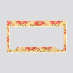 Bohemian Boho MOD Hippy Chic License Plate Holder