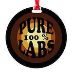 Pure Labs Round Ornament