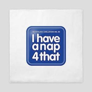 Nap App Queen Duvet