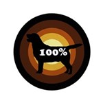 100% Labs Button