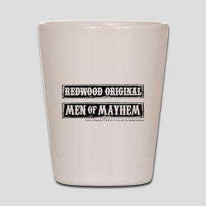 soa men of mayhem Shot Glass