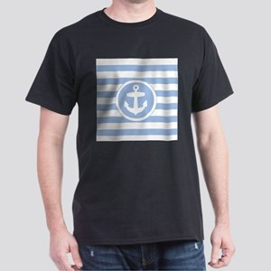 Blue Anchor and stripes T-Shirt
