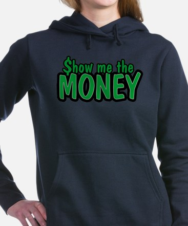 Cute Wealthy Women's Hooded Sweatshirt