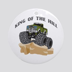 Rock Crawling 4 Wheeling Ornament (Round)