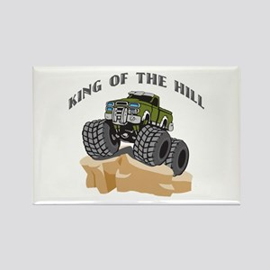 Rock Crawling 4 Wheeling Rectangle Magnet