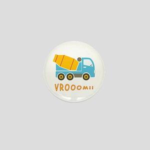 Cement mixer truck Mini Button