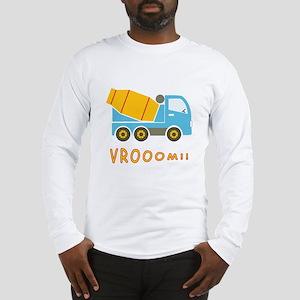 Cement mixer truck Long Sleeve T-Shirt
