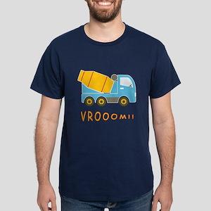 Cement mixer truck Dark T-Shirt