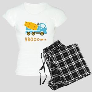 Cement mixer truck Women's Light Pajamas