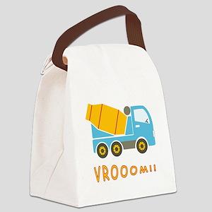 Cement mixer truck Canvas Lunch Bag