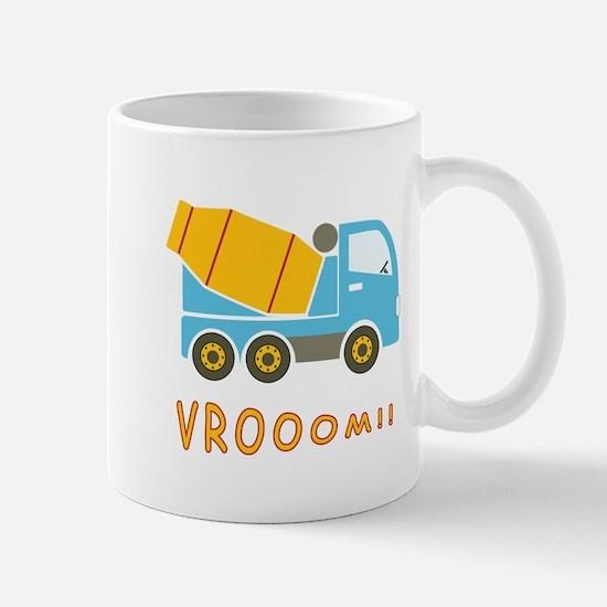 Cement mixer truck Mug
