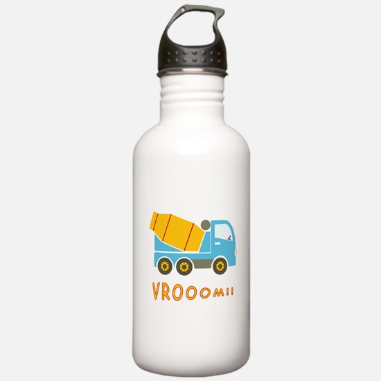 Cement mixer truck Water Bottle