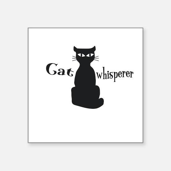 Cat Whisperer Sticker