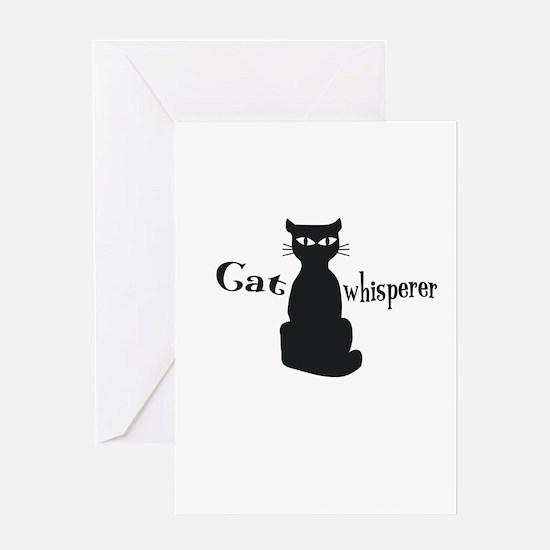 Cat Whisperer Greeting Cards