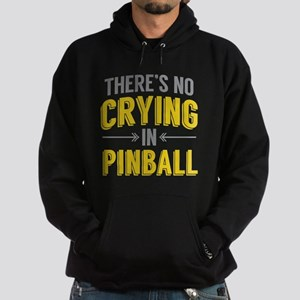 No Crying In Pinball Hoodie (dark)