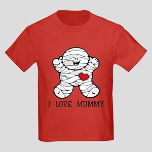 I Love Mummy Kids Dark T-Shirt