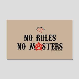 SOA No Rules Car Magnet 20 x 12