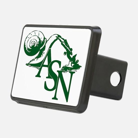 Green ASN Basic Logo Hitch Cover