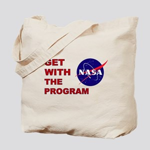 GET WITH THE PROGRAM Tote Bag