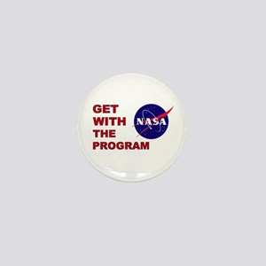 GET WITH THE PROGRAM Mini Button