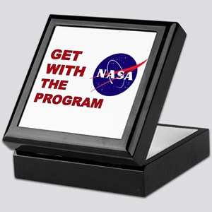 GET WITH THE PROGRAM Keepsake Box