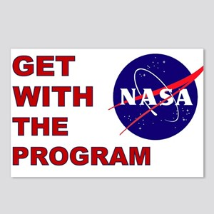 GET WITH THE PROGRAM Postcards (Package of 8)