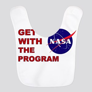 GET WITH THE PROGRAM Polyester Baby Bib