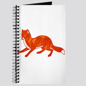 Red Fox Stained Glass Journal