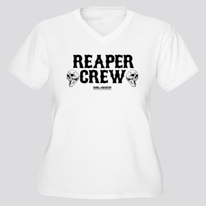 SOA Reaper Crew Women's Plus Size V-Neck T-Shirt