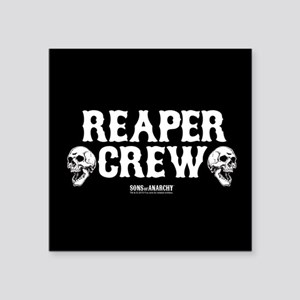 "SOA Reaper Crew Square Sticker 3"" x 3"""